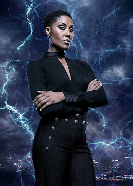 Christine Adams black lightning